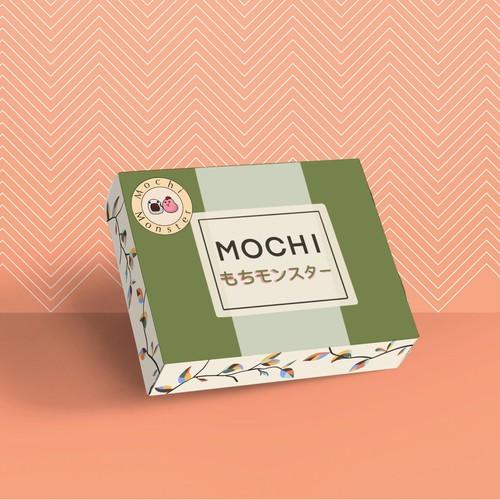 Packaging-Design for Mochi Monster