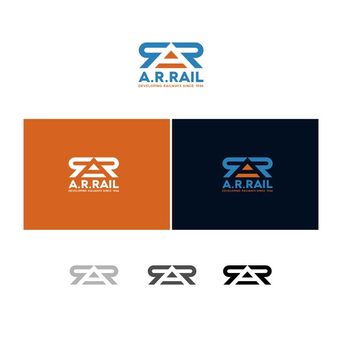 Logo concept for Railway Developers