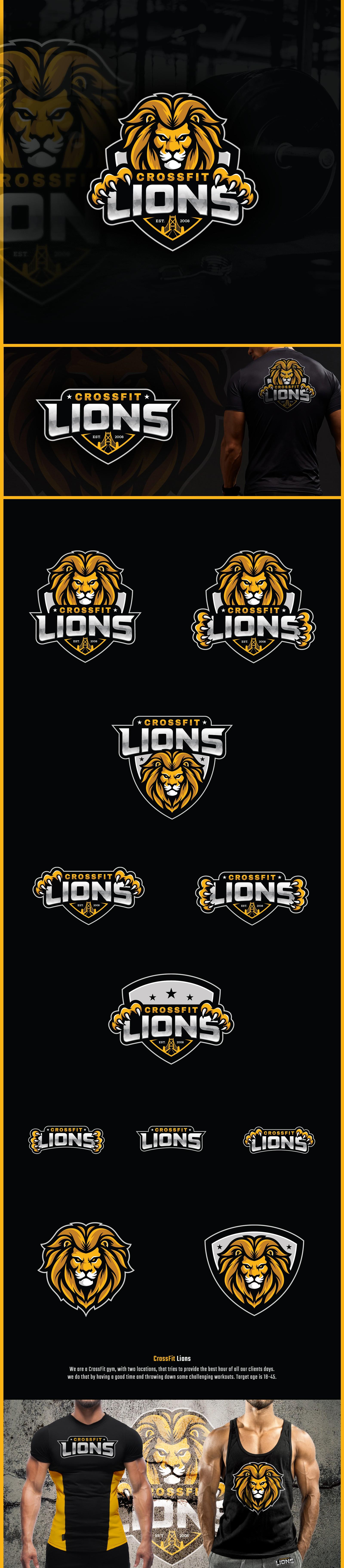 CrossFit Lions Needs A Fresh New Logo