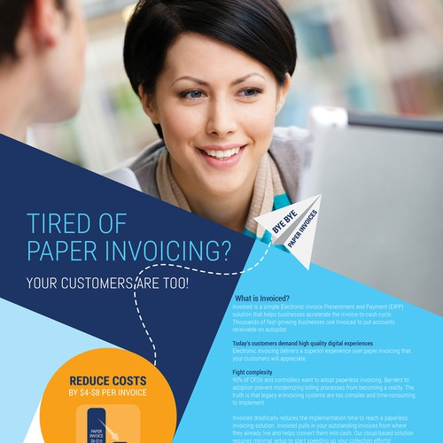Invoiced - Tired of paper invoicing?