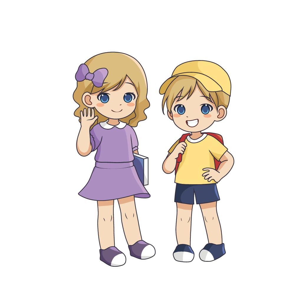 Children's cartoon designs