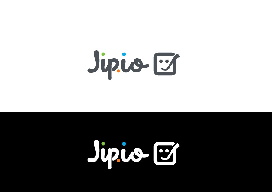 Jip.io new logo and businesscard design