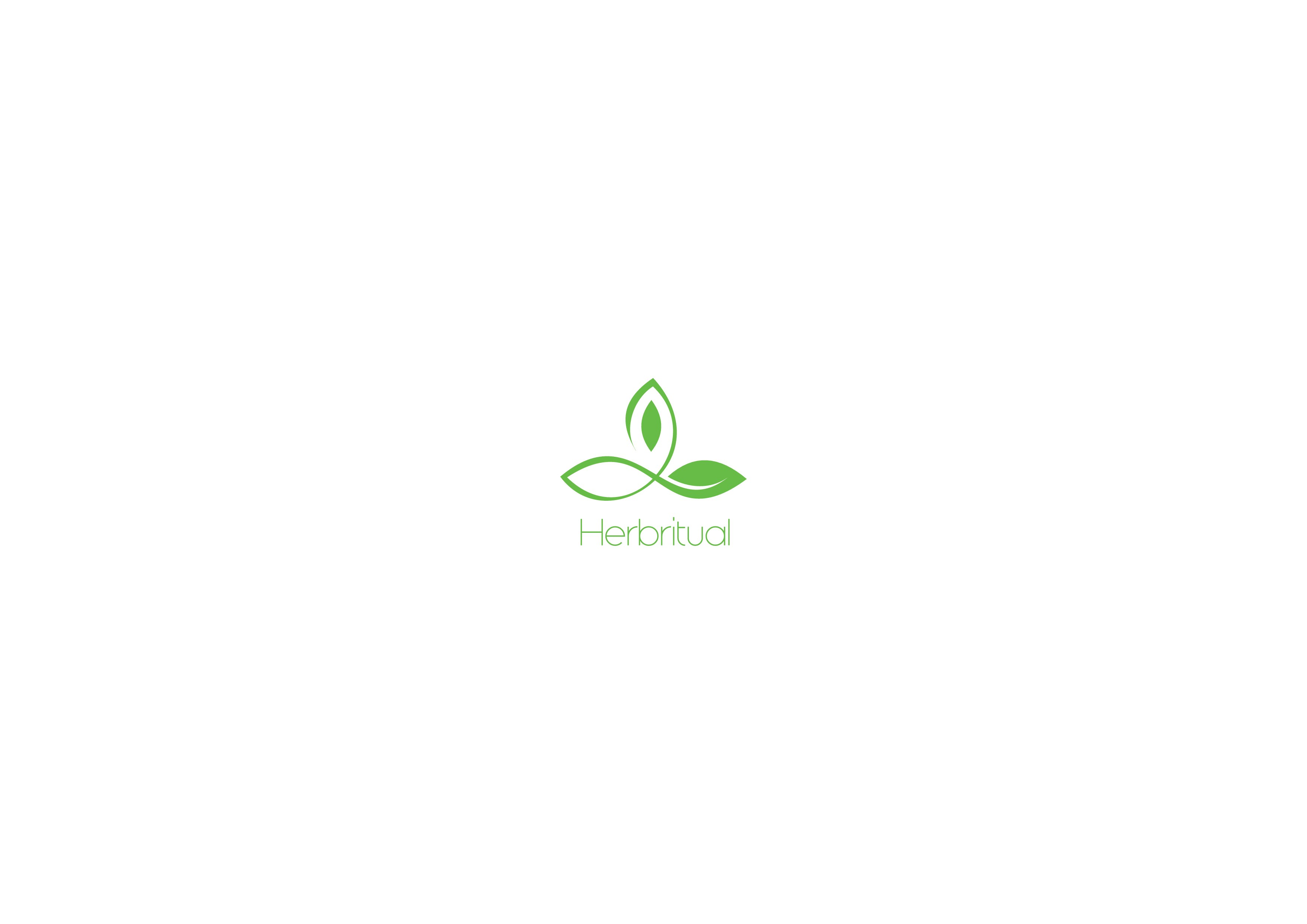 Create a unique recognizable logo for Herbritual lifestyle brand