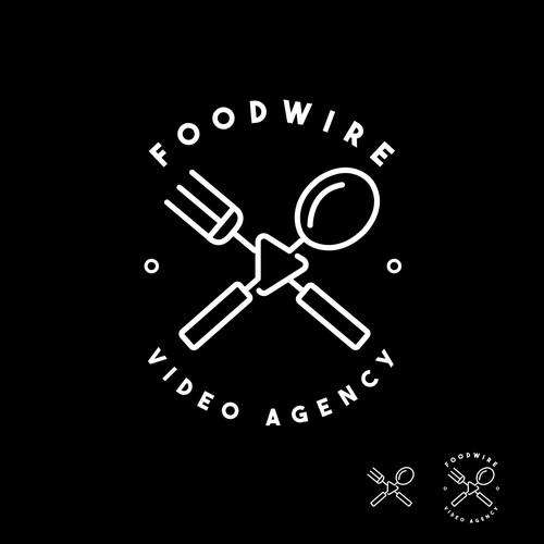 Food video/creative agency logo
