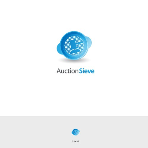 Auction Sieve osx icon/logo design