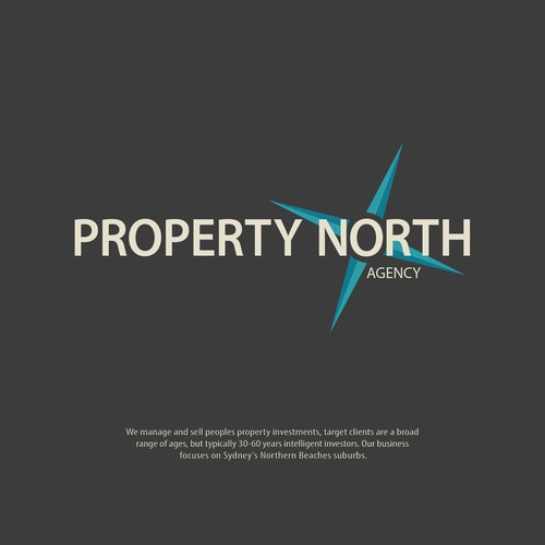 Winning design concept for Sydney property agent.