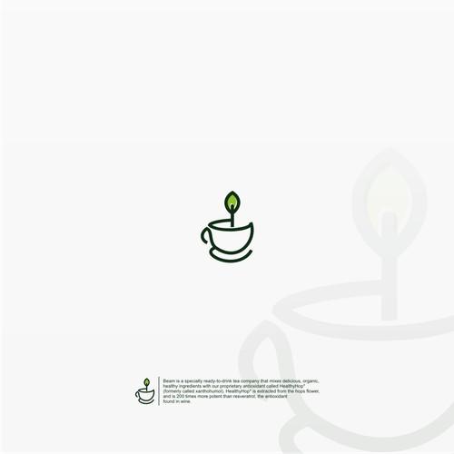 Design a clean logo for BEAM- a new herbal antioxidant