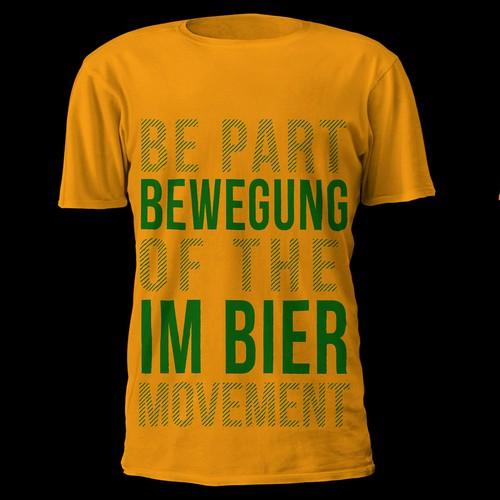 Simple modern T-shirt
