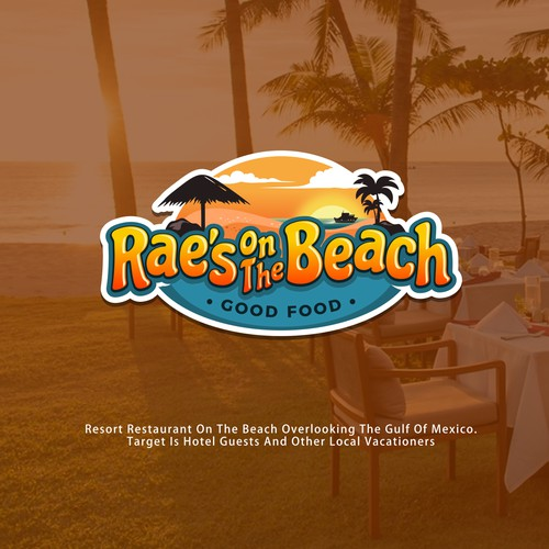 Design a cool resort restaraunt logo