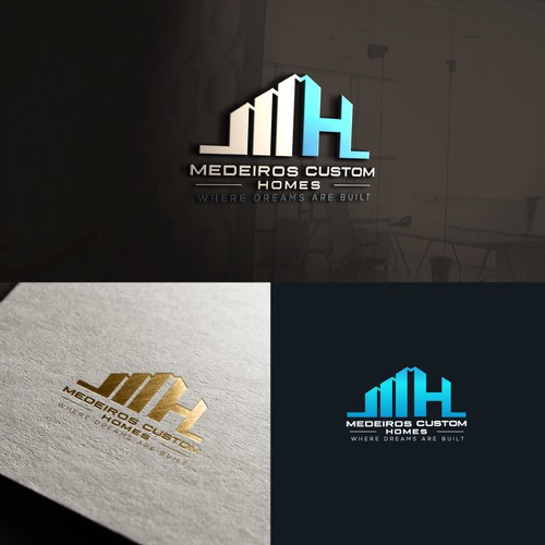 Medeiros Custom Homes Logo
