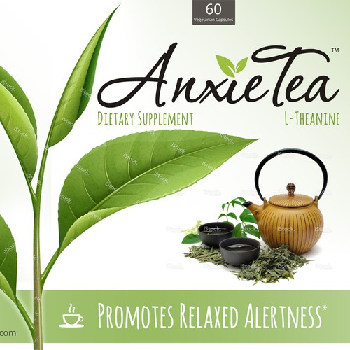 Label for anxiety supplements