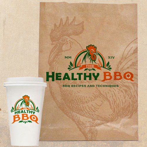 Classic BBQ Logo Needed.  Must be masculine and involve a chicken!