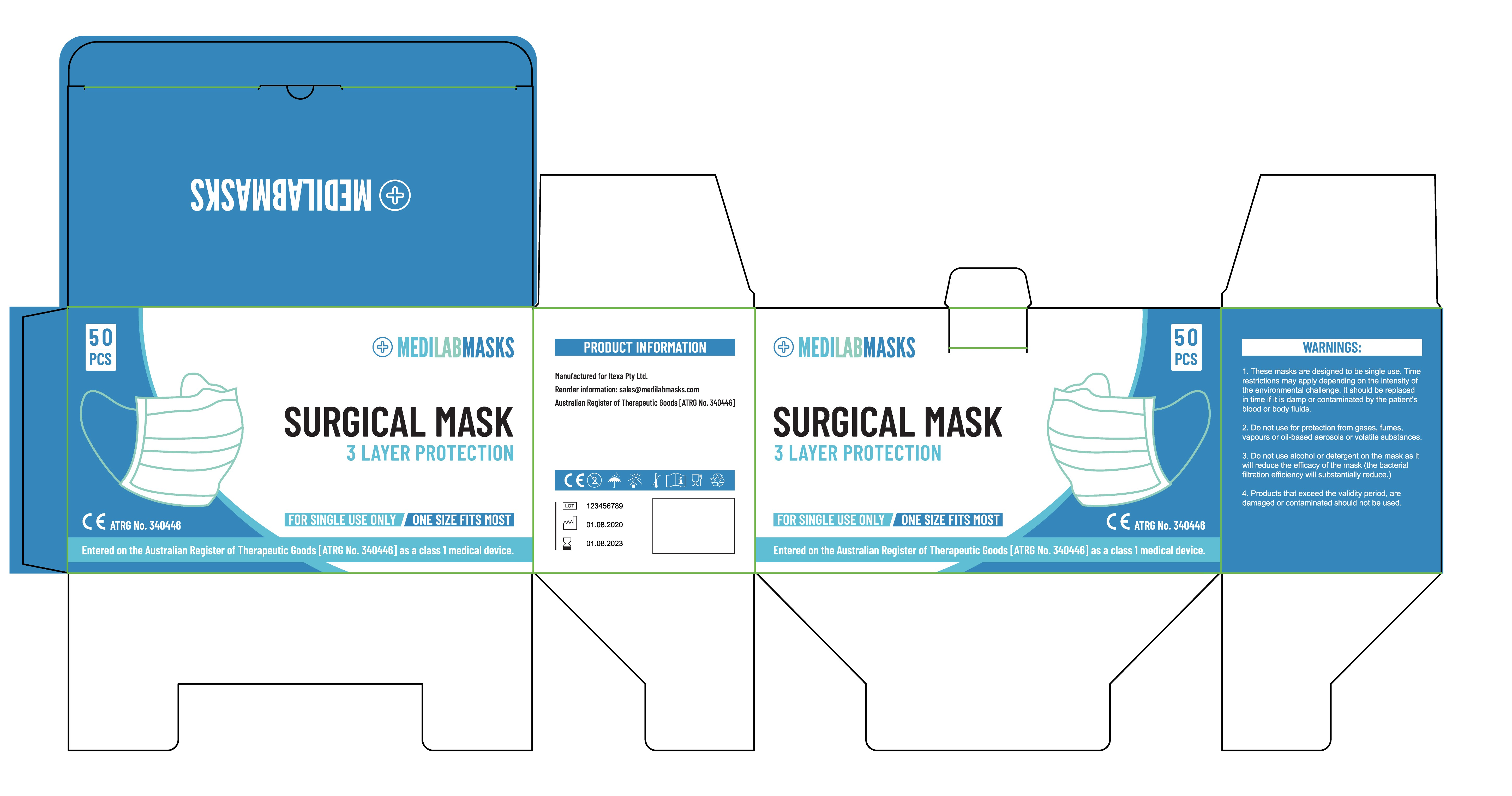 Packaging for Medical Mask