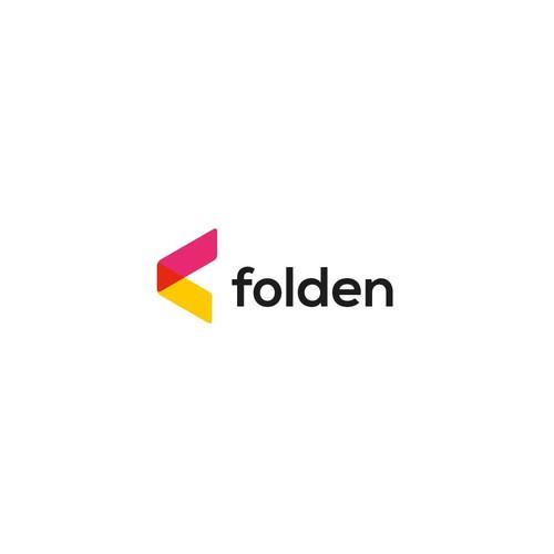 Folden logo design