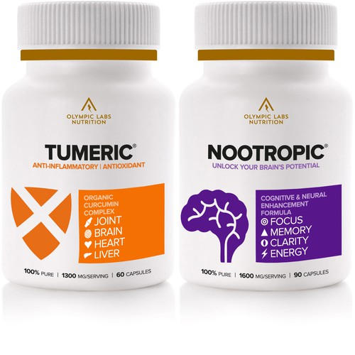 Packaging deign for nutritional supplements