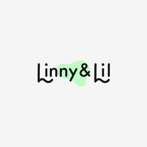 Chic logo design for Linny & Lil