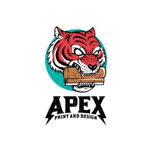 Mascot Logo Design for a Print Shop