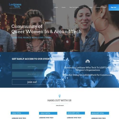 Lesbian Women Tech Networking