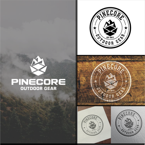 The Outdoor Brand Pinecone needs a matching logo