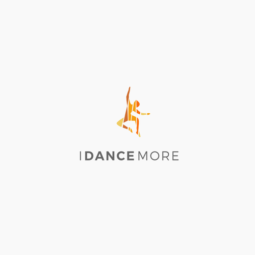 Modern logo for dancing classes