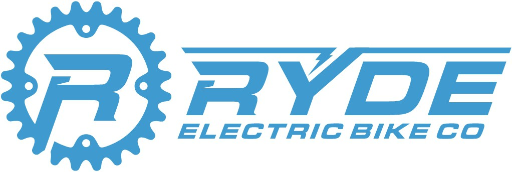 Design a bold fun logo for RYDE Electric Bike Co