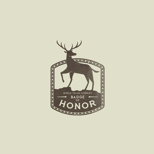 Deer Badge