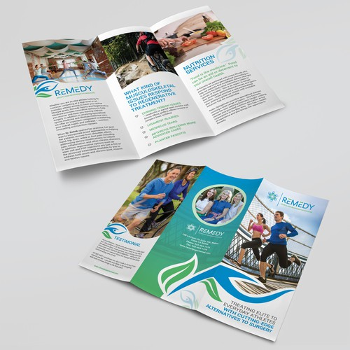 Tri-fold Brochure for REMEDY