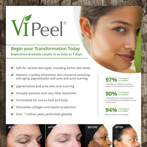 Eye Catching Poster for Skin Care Company Needs