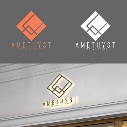 Modern Logo For AMETHYST
