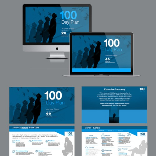 Powerpoint Template for Interview