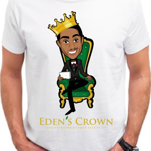 tshirt design for Eden's Crown