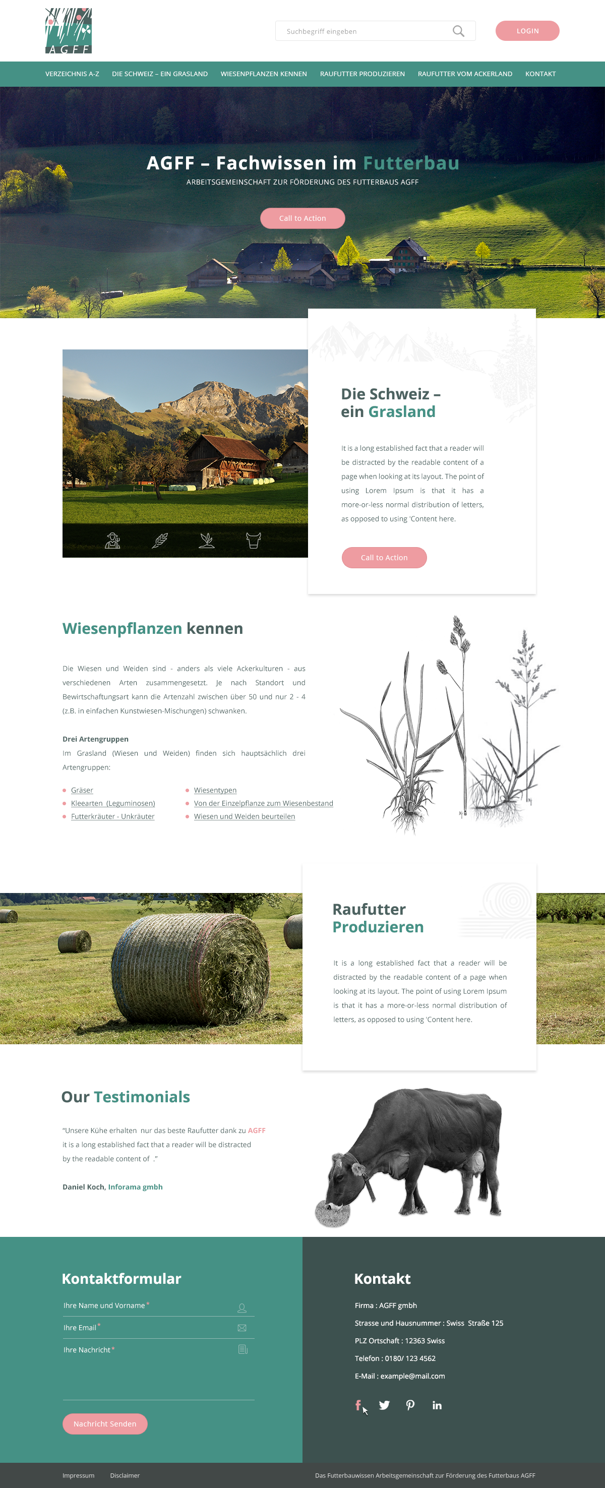 Bootstrap 4 responsive layout for the 2 pages (HTML/css)