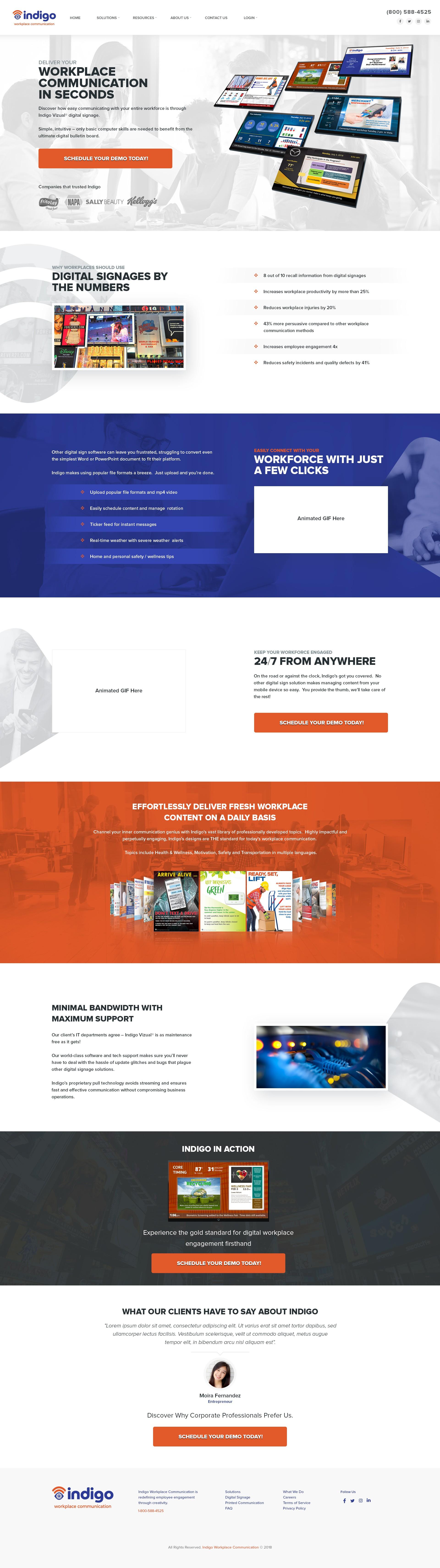 Indigo Home Page