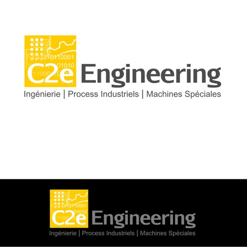 Créez le/la logo and business card suivant(e) pour C2e Engineering