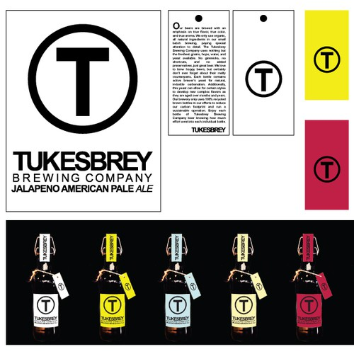 Tukesbrey Brewing Company needs a new product label