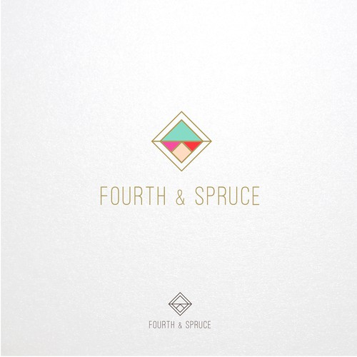 Logo design for Fourth & Spruce