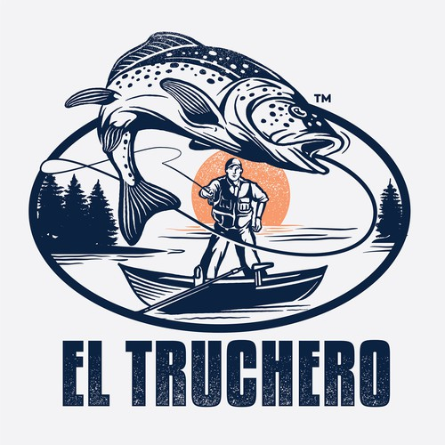 el truchero fly fishing logo