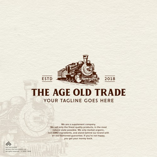 Handdrawn Logo for The Age Old Trade