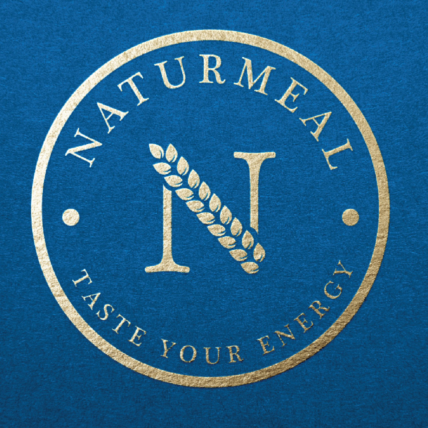 Design a logo for a luxury meal replacement brand named Naturmeal