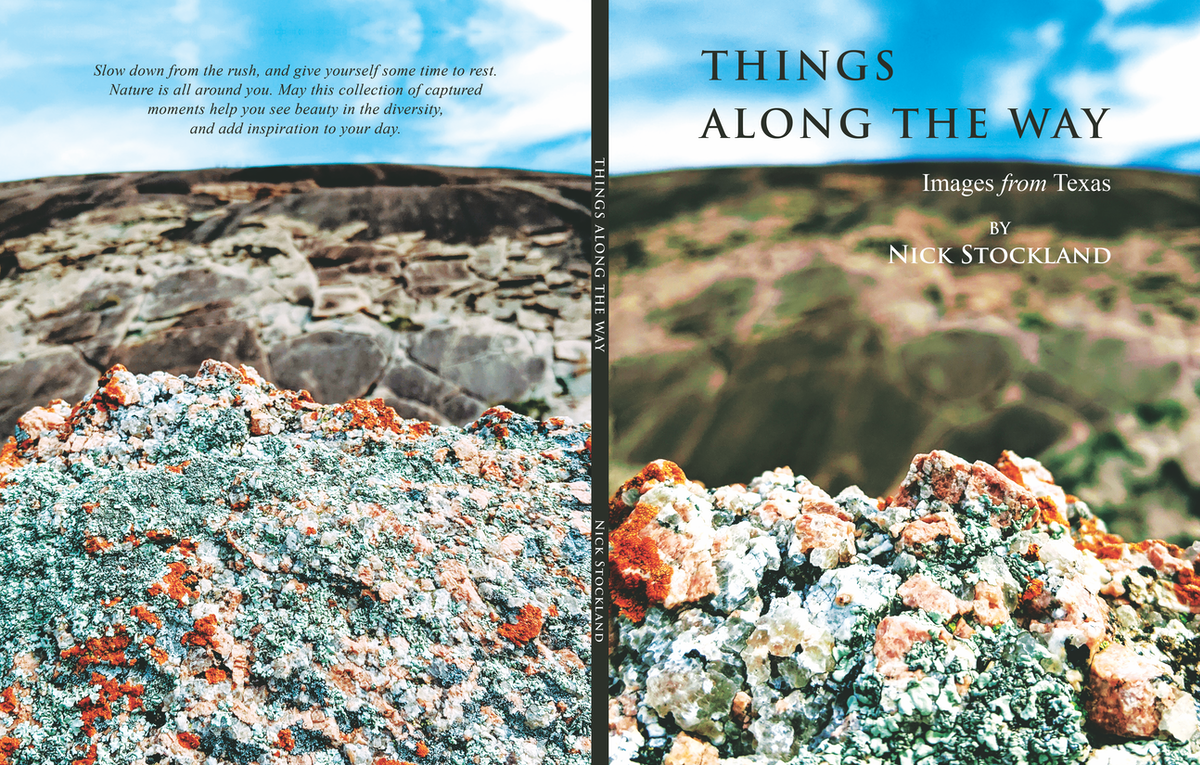 Book Cover Design for Nature Photography