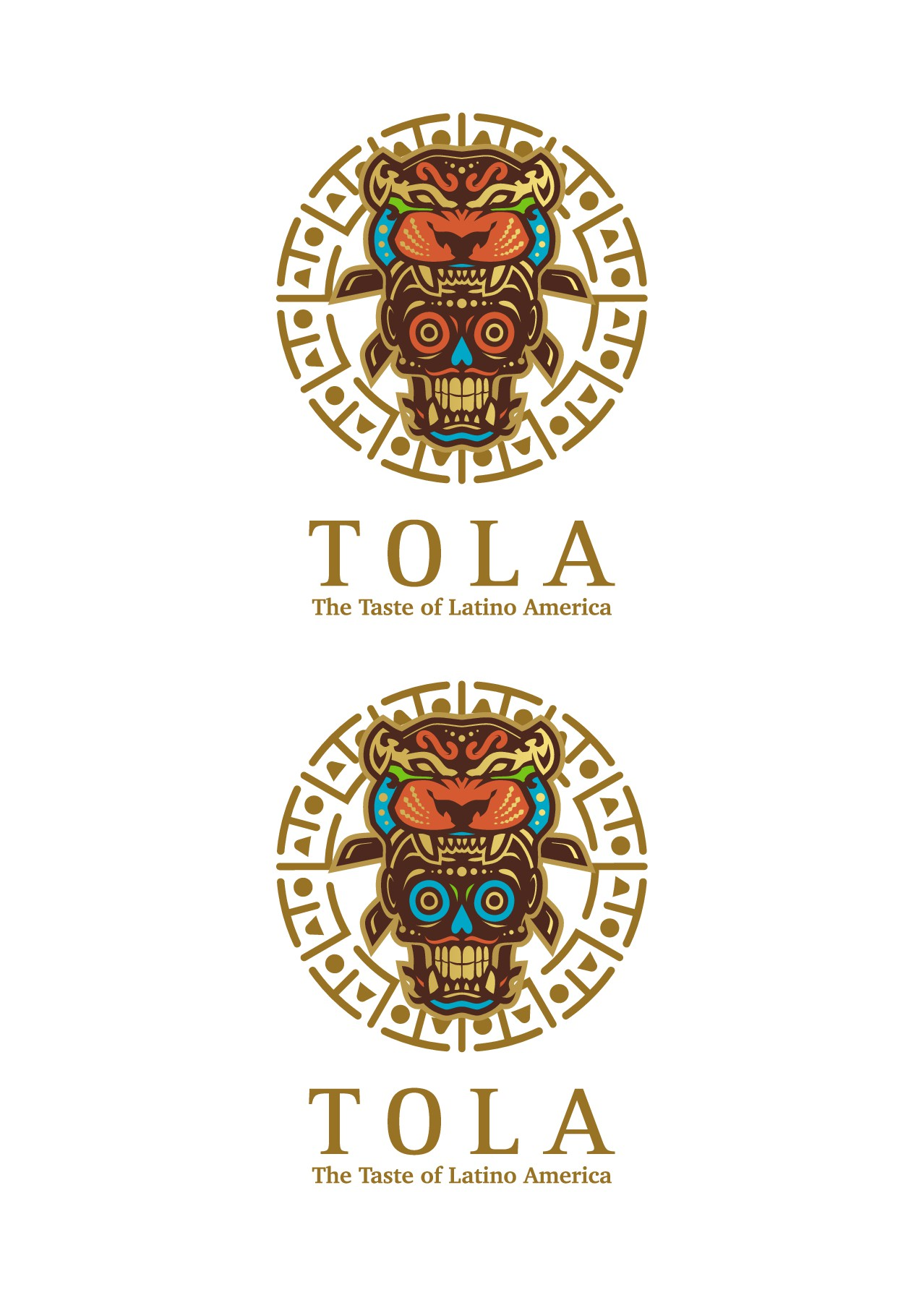 Design an Exotic and Exciting logo for a new Latin Fusion Restaurant