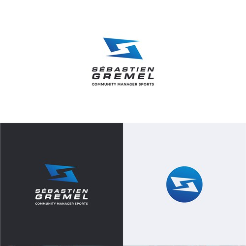 Community Manager Sports Logo Design