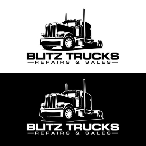 Logo Design for Blitz Trucks