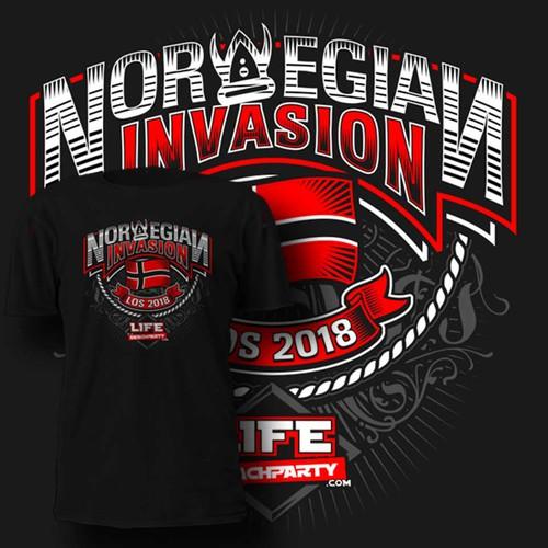 norwegian invasion
