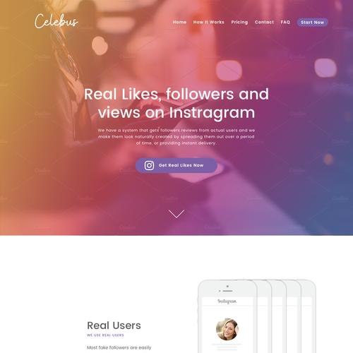 Instagram likes and followers seller website