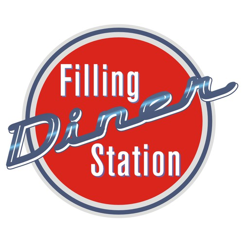 Logo for a Diner Station