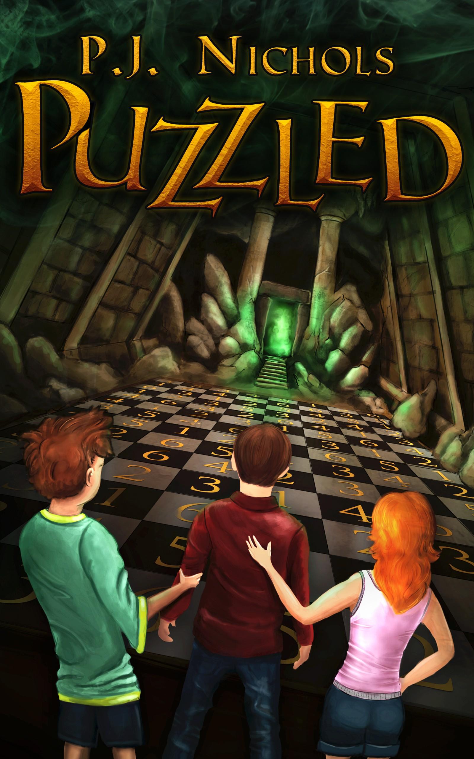 Design an ebook cover for a middle grade adventure novel