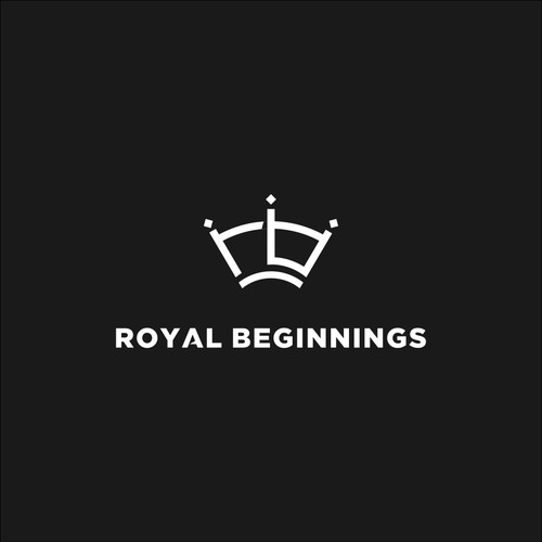 Simple Crown Logo + R & B monogram
