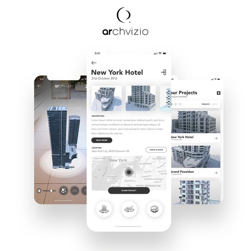 AR App For Architecture