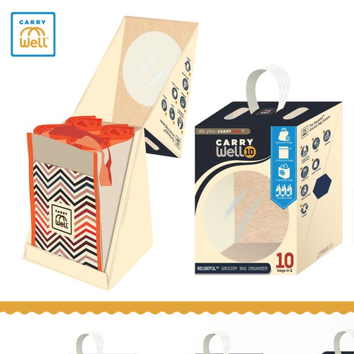 CarryWell Packaging Concept (in ivory)